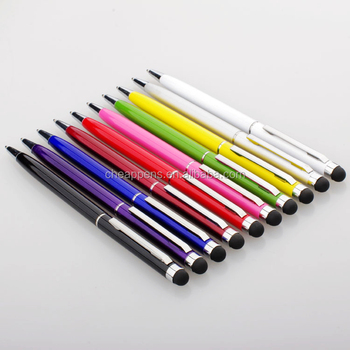 gift touch for promotion use metal stylus ball pen
