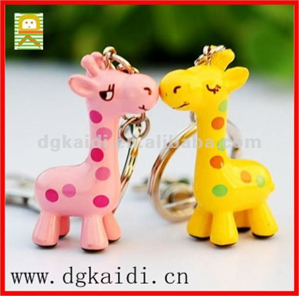 Lovely Animal PVC Key Chains
