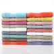 100% cotton hand face and body towel set with embroidery