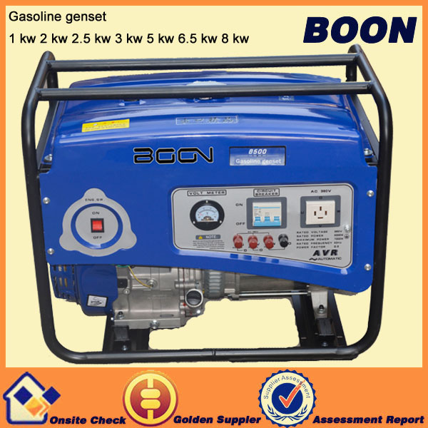 5 kw electric three phase gasoline generator