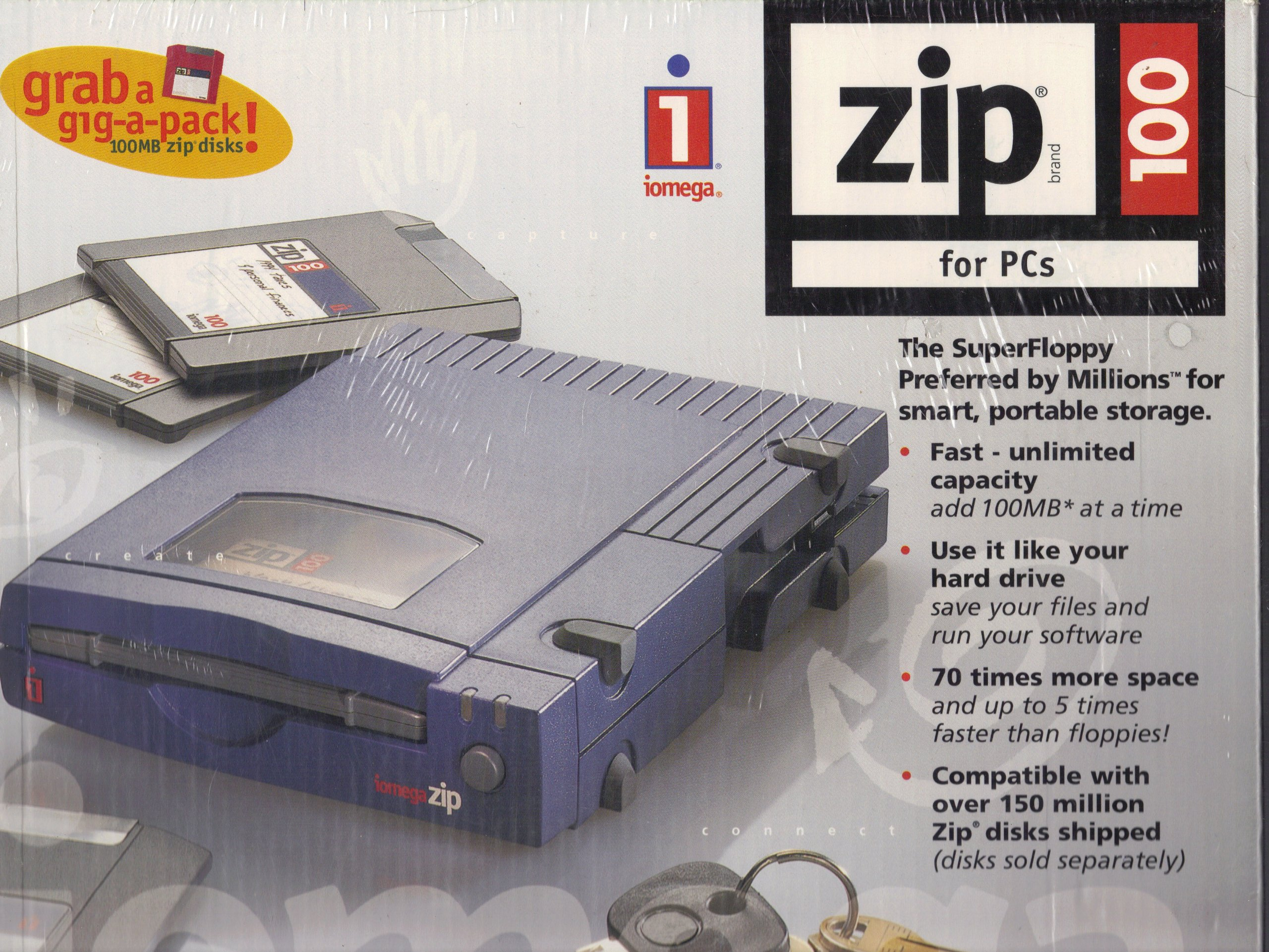 NEW DRIVERS: IOMEGA ZIP DRIVE PARALLEL PORT