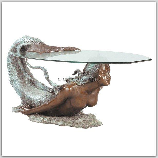 Attirant Serena; Mermaid Table Ts 1516   Buy Bronze Sculpture,Bronze Statue,Table  Product On Alibaba.com