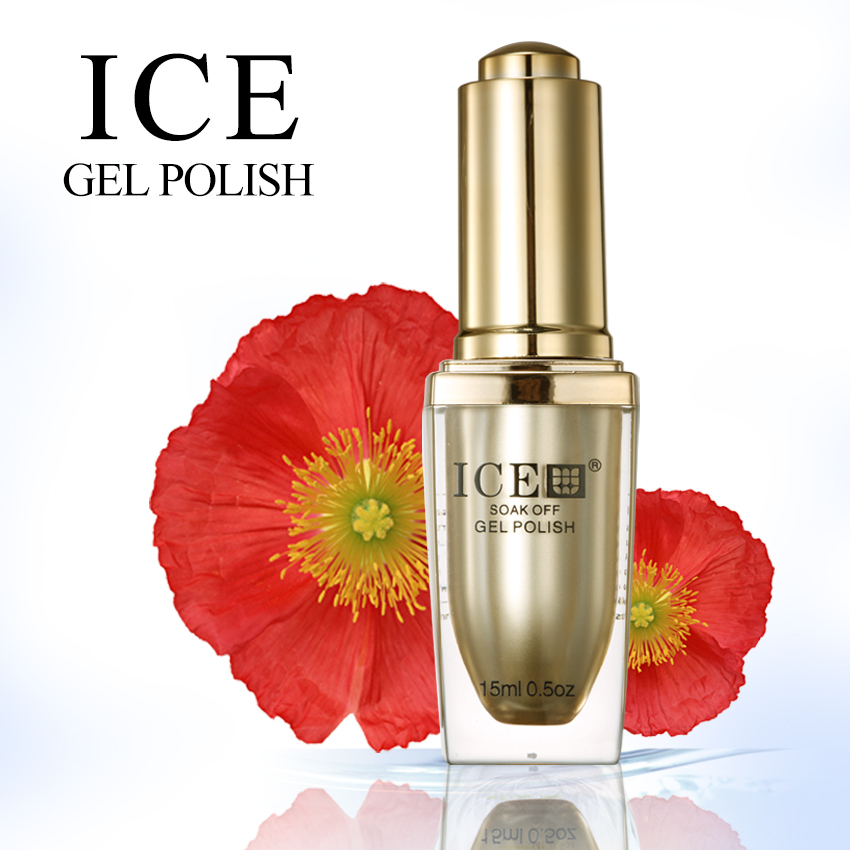 Free shipping 2014 new products ICE gel polish kit