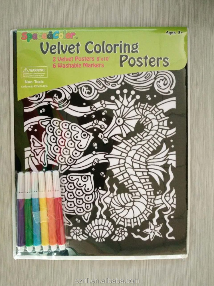 Velvet Coloring Poster Environment Day For Kids - Buy Velvet Coloring  Poster Environment Day For Kids,Poster Environment Day For Kids,Environment  Day ...