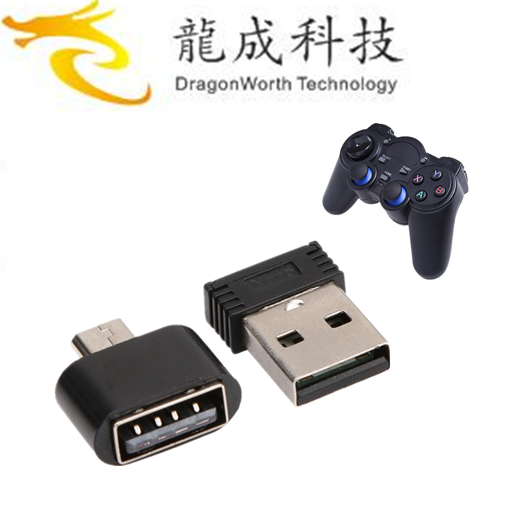 2019 more popular 2.4G RF Wireless Gamepad android game controller ott user manual Joystick & control