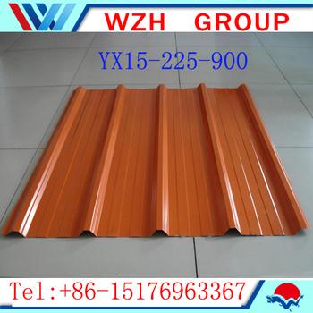 34 Gauge Steel Sheet Metal For Roofing Color Coated