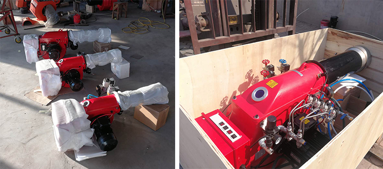 JH-120-Y Dua Tahap Fire Industrial Heavy Fuel Oil Burner Industri