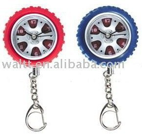 tire clock keychain/Tyre Watch