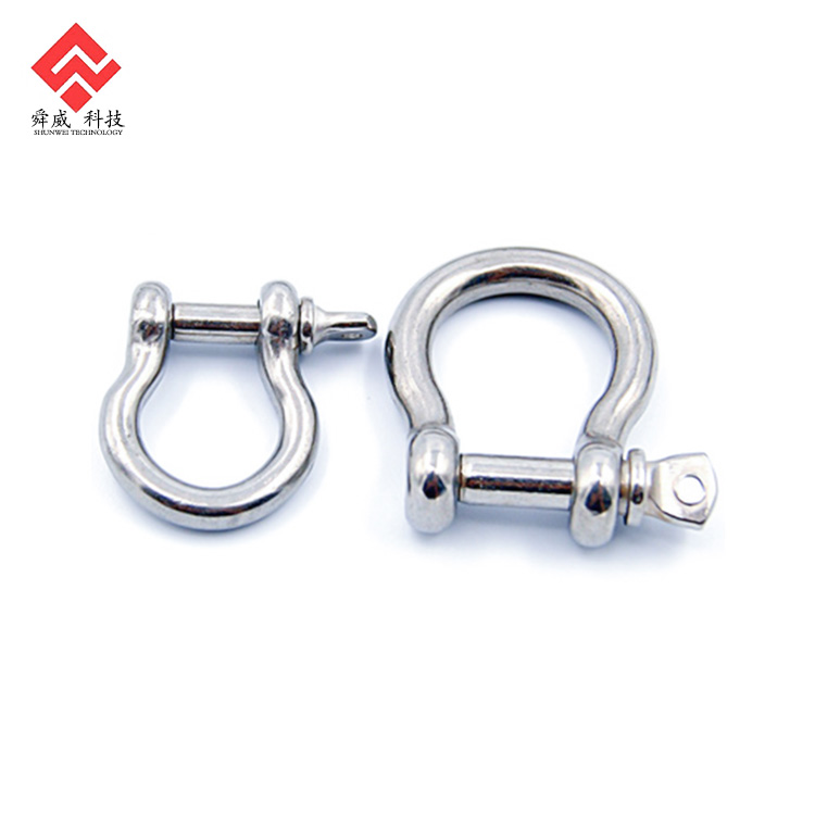 Towing Off Road Recovery MarineNow Stainless Steel Bow Shackle for Anchor