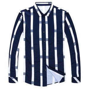 Custom Floral Men Casual Fancy Design Long Sleeve Latest New Shirt Designs For Men