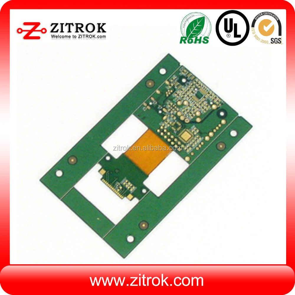 China Peelable Solder Mask Manufacturers Circuit Board 6 Layer Blue Printed And Suppliers On