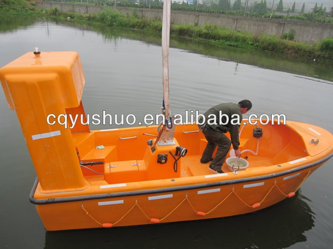 Marine Solas 6 Person Frp Water Rescue Boat