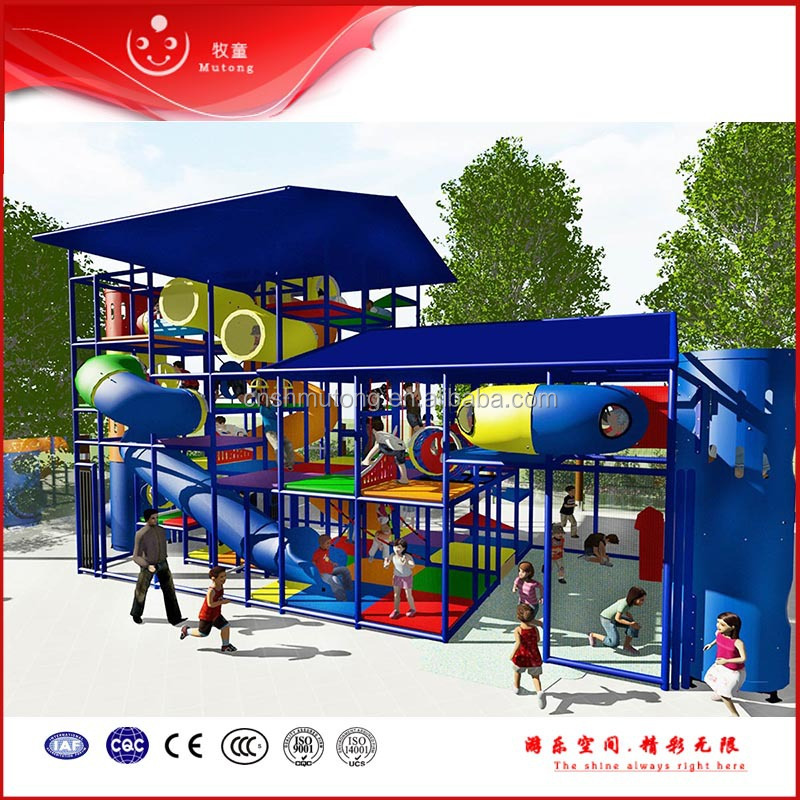 New Style Indoor & Outdoor Playground Set Kids Playground for Commercial Used