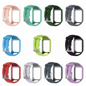 Watchband for TomTom 2 3 Series Watch Strap Silicone Replacement Wrist Band Strap For TomTom Runner 2 3 GPS Watch