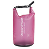 Transparent PVC Waterproof Dry Bag with Shoulder Strap