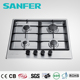 Hot- selling 2015 design 4 SABAF gas cylinder with burner /gas hob covers