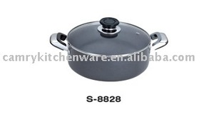 ALU DUTCH OVEN with glass lid