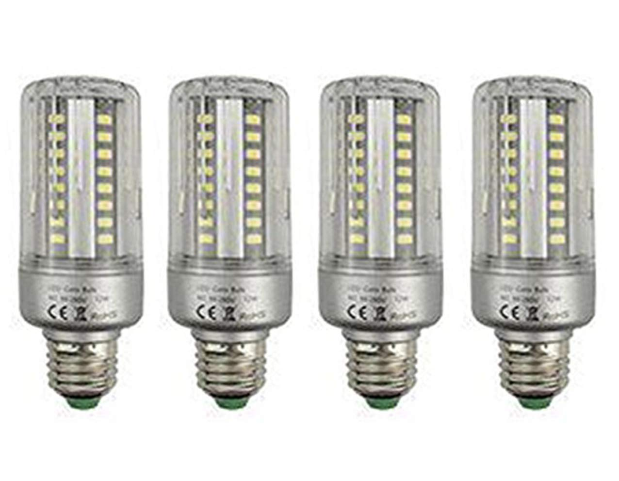 CTKcom 5W LED Bulbs Corn Light Bulb(4 Pack)- E26/E27 Corn Bulbs Daylight White 6000K,400LM,50 Watt Light Bulbs Equivalent For Home Garage Warehouse Barn Porch Backyard Garden Lighting,AC85-265V