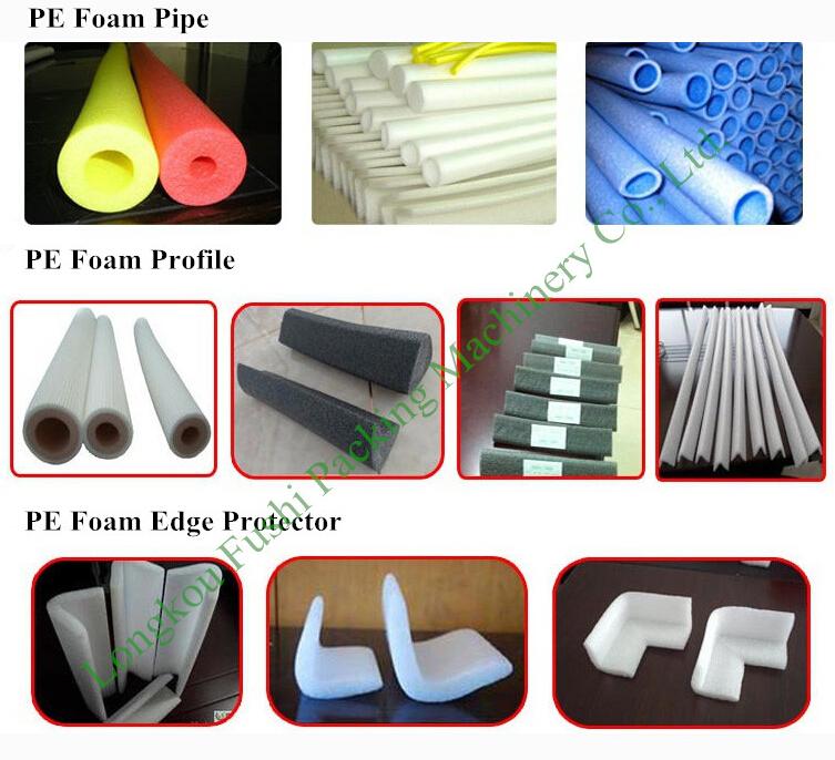 Factory Price PE Foam Pipe/Tube/Rod Extrusion Machine , plastic pipe making machine