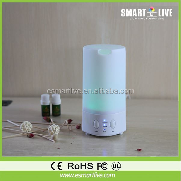 Home Garden World Aroma Diffuser Ultrasonic Humidifier LED Color Changing Lamp Light Lonizer
