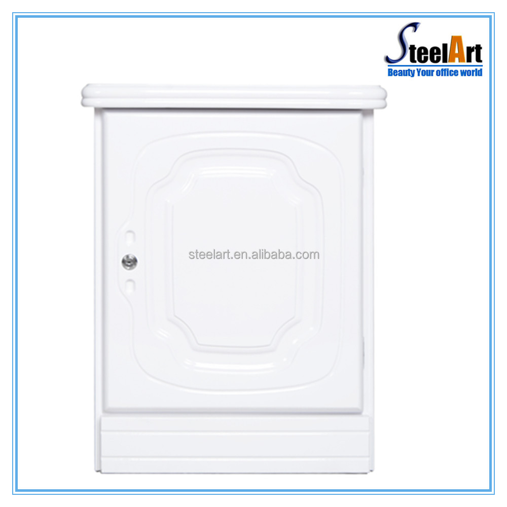 2017 update white color design hidden wall safe with digital safe lock