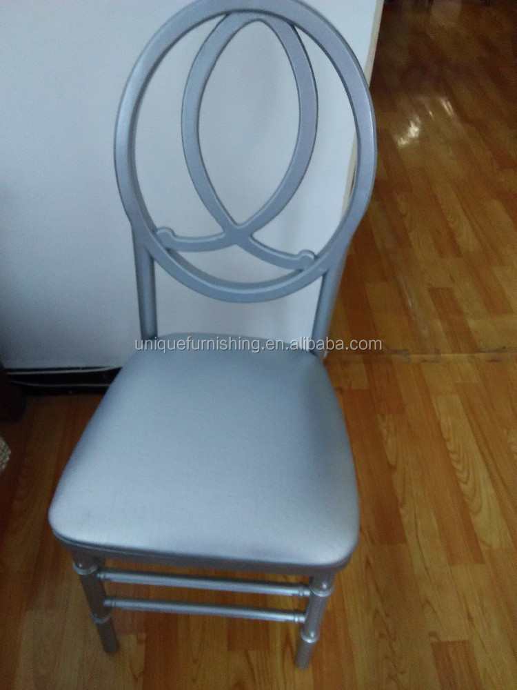 New Design Wooden High Back White Phoenix Wedding Chair - Buy ...