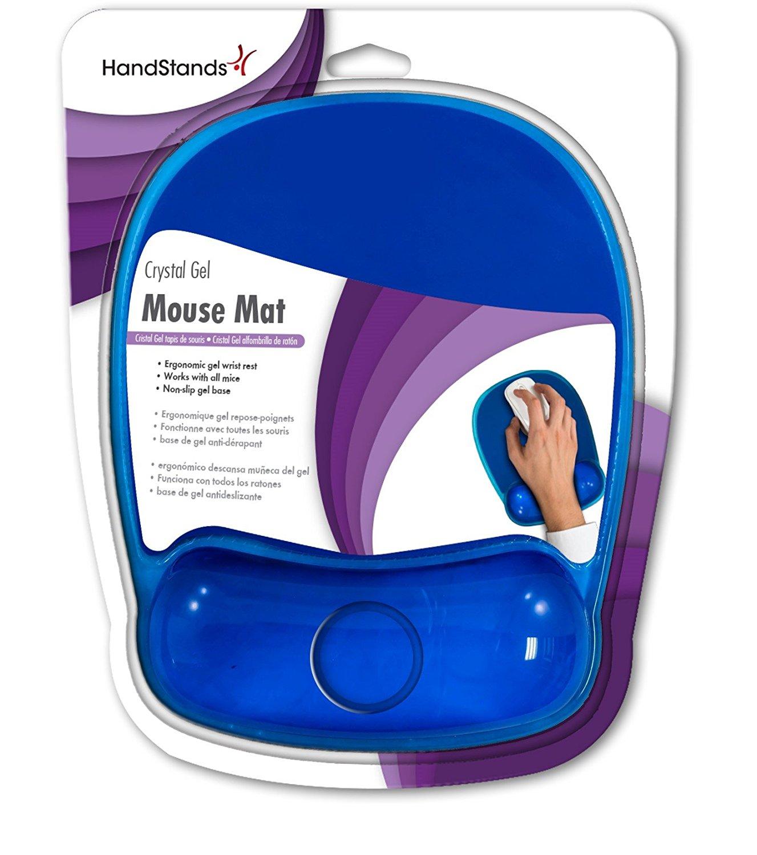Handstands Ergonomic Crystal Gel Mouse Mat with Wrist Rest (58802)