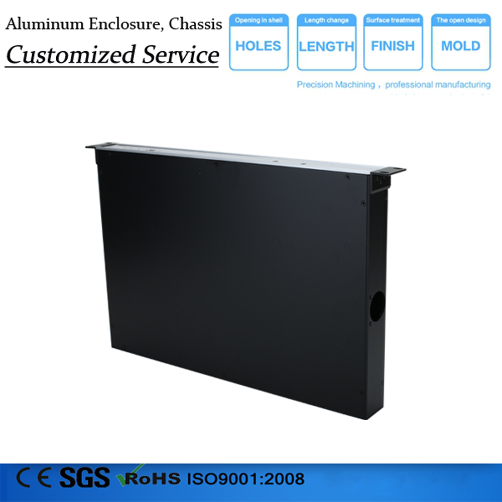 1u High Quality Aluminium Enclosure Box casing aluminum casing for electronic