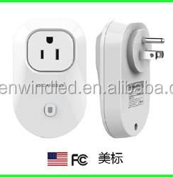 Bluetooth 4.0/4.1 Ble Smart Ac Power Socket Us Plug Switch 110v ...