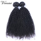 VMAE 10A Brazilian Natural Black 16 to 28 Inch 3B 3C 4A 4B 4C Afro Kinky Curly Human Raw Virgin Cuticle Aligned Hair Extensions