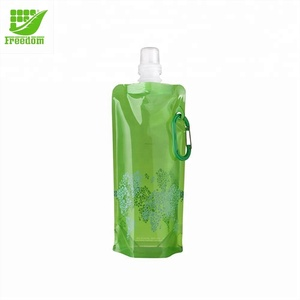 New Arrival Portable Foldable Plastic Water Bottle