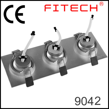 9w Square Focusable Led Recessed Lighting Retrofit Spotlights For ...