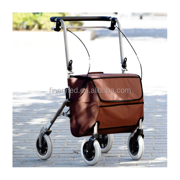 Foldable disabled shopping cart