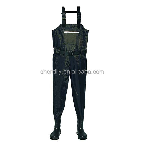 420D nylon Unisex Stocking foot hunting fishing chest waders