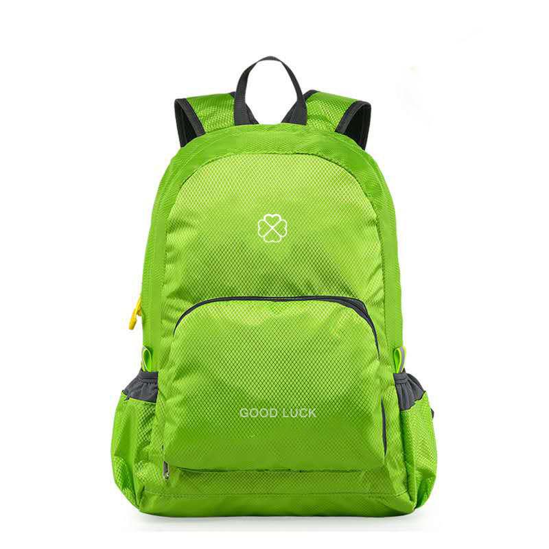 Promotional Custom Travel Lightweight Nylon Hiking Waterproof Ultralight Foldable Backpack