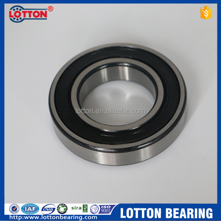 China Low Price Motorcycle Engine Deep Groove Ball Bearings