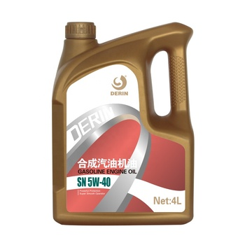 Gasoline engine oil SN 5W-40 4L engine oil lubricants