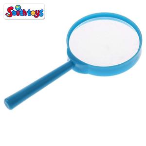Educational and Science Nature Exploring Toys 3X Magnifier Plastic Small Magnifying Glass for Kids