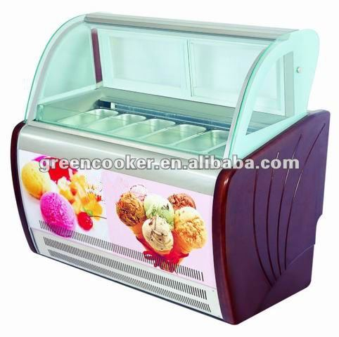 Hot sale refrigerator freezer display cabinet for soft Ice cream