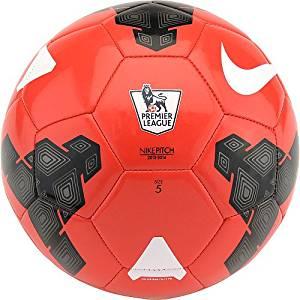 NIKE Pitch Premier League Soccer Ball - Maroon