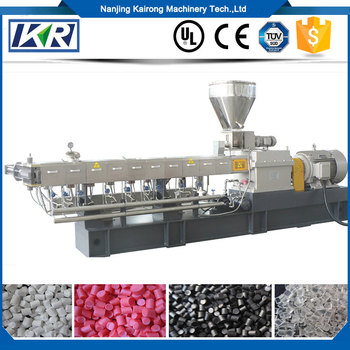 Pa/hdpe Recycle Cost Plastic Recycling Machine/cassava Starch Biodegradable  Bags Plastic Granules Filler Masterbatch Extruder - Buy Granulator