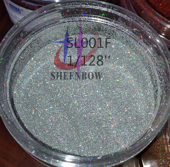 Laser holographic glitters for nail art/nail polish