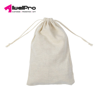 20*30cm cotton drawstring bag use as storage bag for rice packing tea-leaves packing
