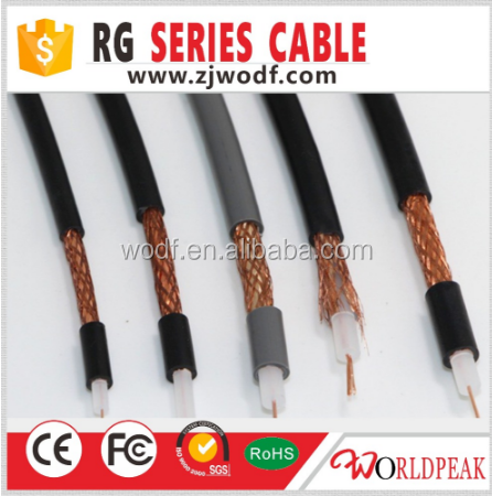free samples lowest price RG8 lmr400 rf electrical cable rf Coacial cable