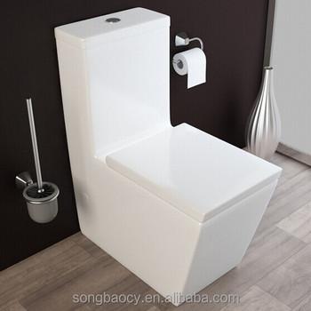 Awe Inspiring 030 Bathroom Square Toilet Seat One Piece Ceramic Toilet Closet Buy Squatting Toilet Water Closet Seat Cover Square Toilet Seat Product On Machost Co Dining Chair Design Ideas Machostcouk