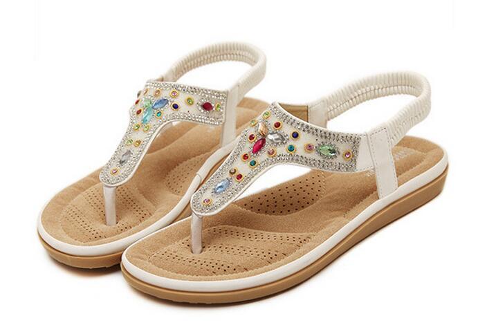 New design Summer Flat Sandals Flip Flop sandals lady shoes women sandals  Summer Fashion shoes 3a89275d3