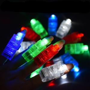 Party items led plastic magic light up LED finger projection lights