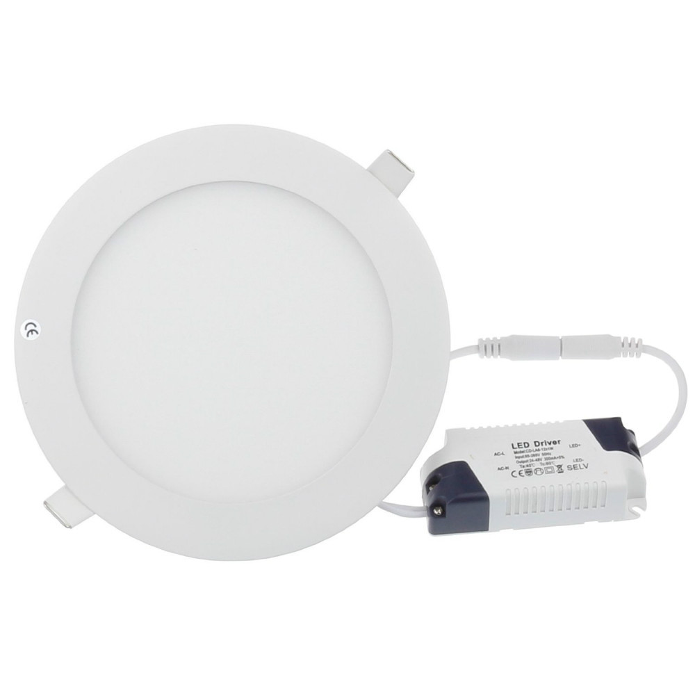 Down Light 3W 4W 6W 9W 12W 15W 18W Bright CREE LED Recessed Ceiling Panel Lamp AC100-245V Cold White/Warm white