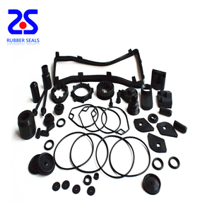 OEM custom various rubber products rubber components with NBR HNBR FKM material