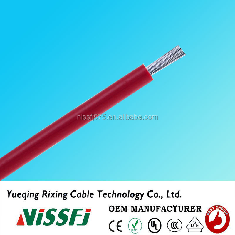 Electrical heat resistant cable and wire silicone rubber insulation ul3138